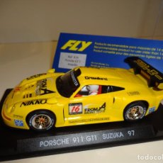 Slot Cars: FLY. PORSCHE 911 GT1. SUZUKA 1997. REF. A-36. Lote 154472846