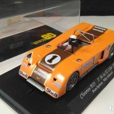 Slot Cars: FLY CAR MODEL GB TRACK CHEVRON B19 2º 3H EL COBO 1971. EN URNA. VÁLIDO SCALEXTRIC. Lote 155148214