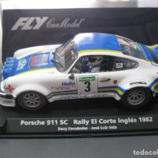 Slot Cars: PORSCHE 911 SC RALLY CORTE INGLES 92 DE BENY FERNANDEZ DE FLY. Lote 186245105