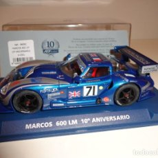 Slot Cars: FLY. MARCOS 600 LM. 10º ANIVERSARIO. REF. A-2001. Lote 155669322