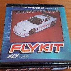 Slot Cars: FLY KIT CORVETTE C5R | FLY CAR MODEL | REF. 88306. Lote 156496146