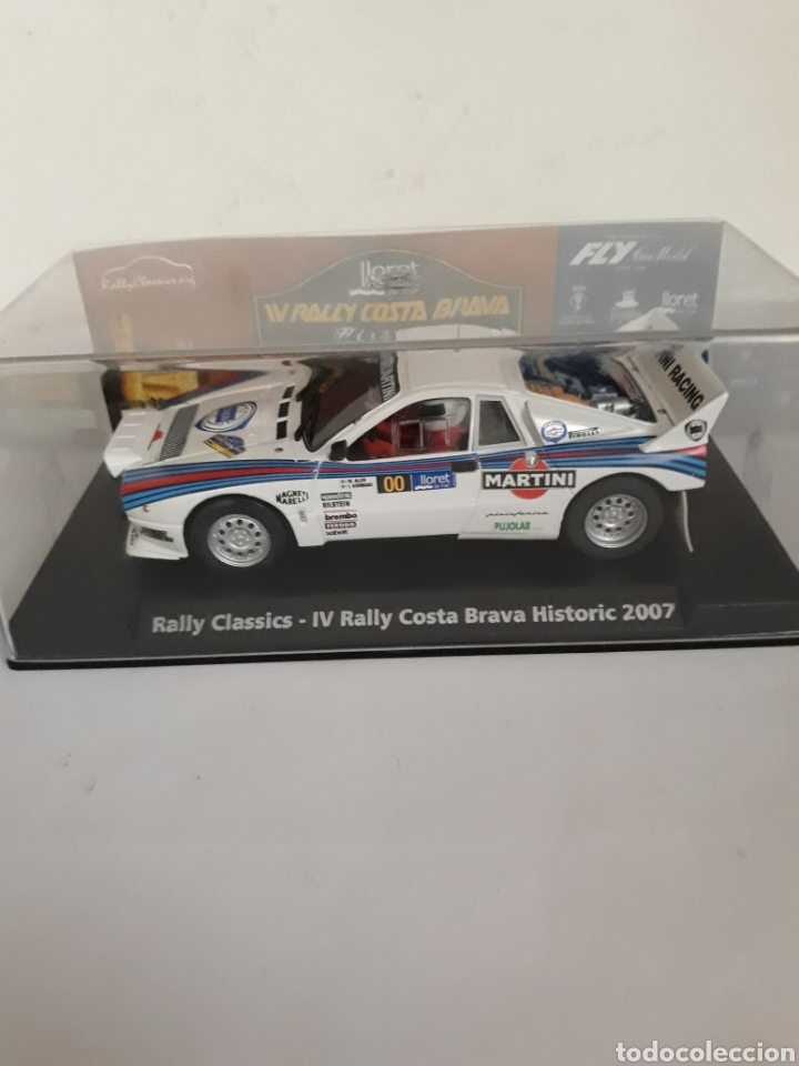 Slot Cars: FLY RALLY COSTA BRAVA HISTORIC LANCIA 037 - Foto 1 - 181341978