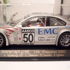 Slot Cars: FLY CAR REF.A285 BMW M3 GTR 24H DAYTONA 2002. Lote 159292670