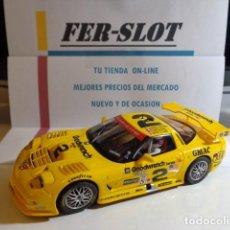 Slot Cars: CORVETTE C5R DE FLY. Lote 160493570