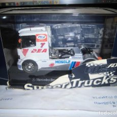 Slot Cars: CAMION MERCEDES DEA DE FLY, COMPATIBLE SCALEXTRIC. Lote 160858890
