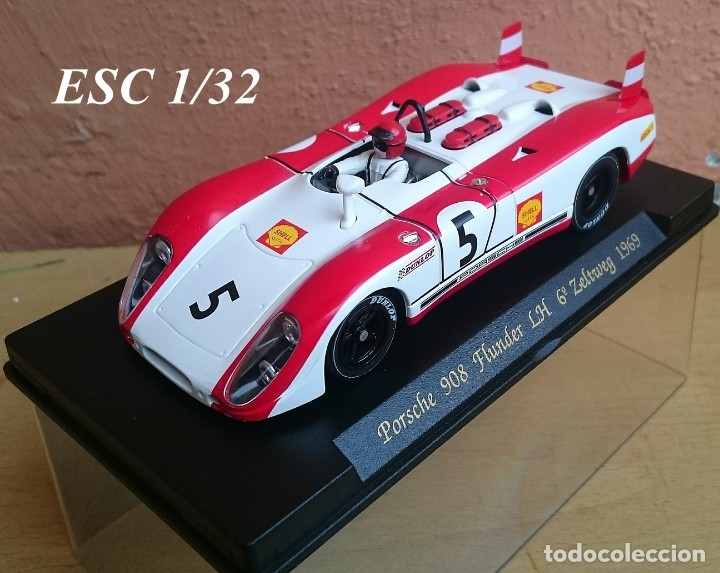 FLY SLOT CLASSIC C48 PORSCHE 908 FLUNDER LH Nº5 - 6º ZELTWEG 1969 / FABRICADO EN ESPAÑA (Juguetes - Slot Cars - Fly)
