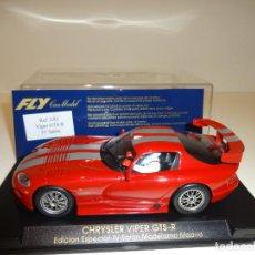 Slot Cars: FLY. VIPER GTS R. ED.LTA. SALON DE MADRID. REF. E-81. Lote 163586630
