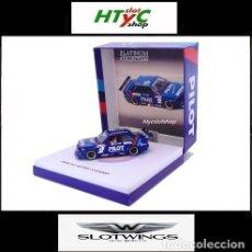 Slot Cars: SLOTWINGS 78 UNIDADES BMW M3 E30 #2 RESINA MICHEL FERTE SUPERTURISMO FRANCES 1991 PILOT FLY RW038-01. Lote 161365730