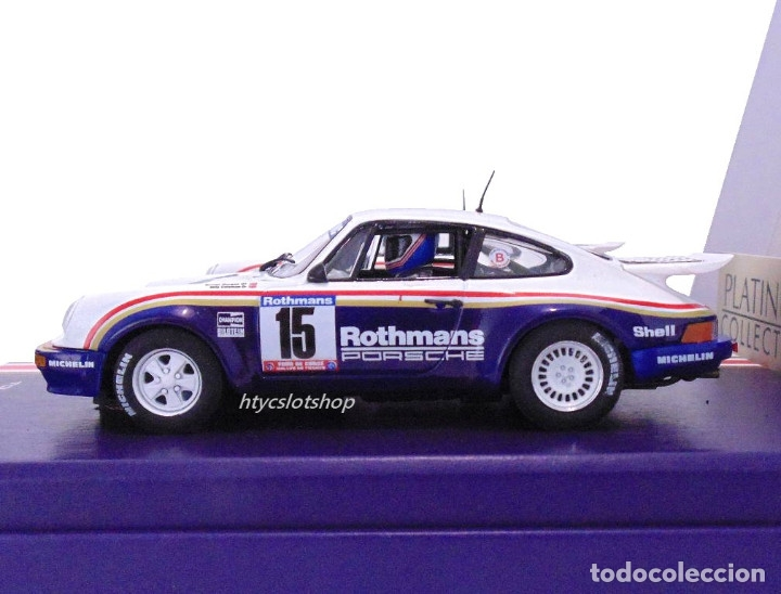 Slot Cars: SLOTWINGS 78 UNIDADES PORSCHE 911 SC RS ROTHMANS PLATINUM COLLECTION TOUR DE CORSE 1985 RW044-01 - Foto 6 - 163597506