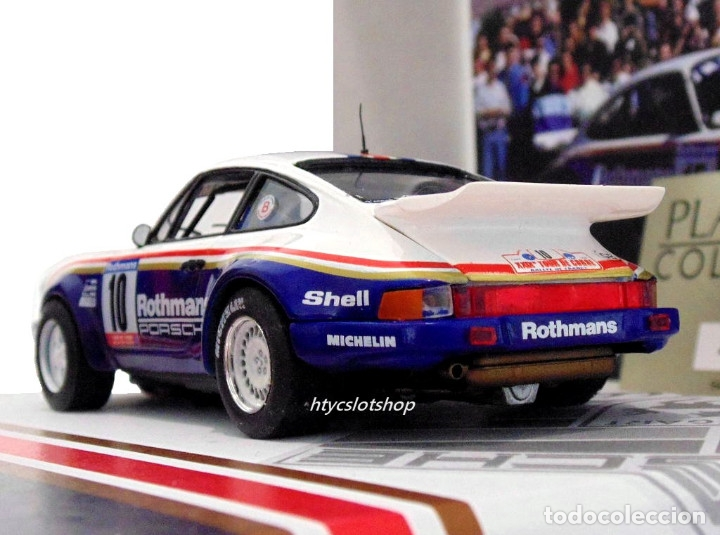 Slot Cars: SLOTWINGS 78 UNIDADES PORSCHE 911 SC RS ROTHMANS PLATINUM COLLECTION TOUR DE CORSE 1985 RW044-01 - Foto 7 - 163597506