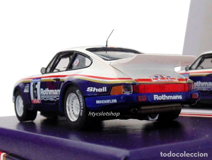 Slot Cars: SLOTWINGS 78 UNIDADES PORSCHE 911 SC RS ROTHMANS PLATINUM COLLECTION TOUR DE CORSE 1985 RW044-01 - Foto 8 - 163597506