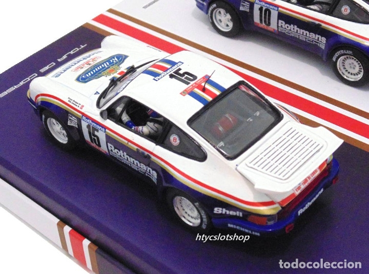 Slot Cars: SLOTWINGS 78 UNIDADES PORSCHE 911 SC RS ROTHMANS PLATINUM COLLECTION TOUR DE CORSE 1985 RW044-01 - Foto 9 - 163597506