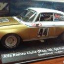 Slot Cars: ALFA ROMEO GIULIA GTAM FLY A-1104. Lote 165563534