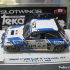 Slot Cars: RENAULT 5 TEKA EFECTO SUCIO EDICION ESPECIAL SOLO 70 UNIDADES DE SLOTWINGS. Lote 172131117