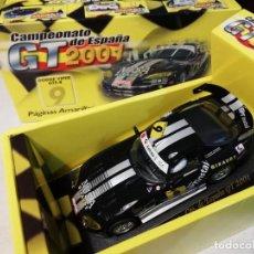 Slot Cars: SCALEXTRIC FLY DODGE VIPER GTS Nº 9 CAMPEONATO DE ESPAÑA GT 2001 - PAGINAS AMARILLAS - NUEVO. Lote 167074388