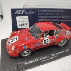 Slot Cars: FLY PORSCHE 911 CARRERA 24 H. LE MANS 1973 REF. 88140. Lote 167090721