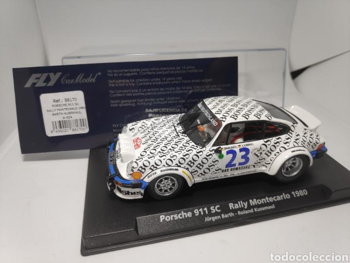 FLY PORSCHE 911SC RALLY MONTECARLO 1980 REF. 88170 (Juguetes - Slot Cars - Fly)
