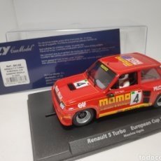 Slot Cars: FLY RENAULT 5 TURBO EUROPEAN CUP MASSIMO SIGALA REF. 88188. Lote 167561932