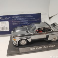 Slot Cars: FLY BMW 3,5 CSL SILVER EDITION REF. 88124. Lote 167602474