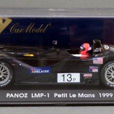 Slot Cars: PANOZ LMP 1 FLY PETIT LE MANS 1999 NUEVO CAJA REF A 92 SIN USO. Lote 167939648