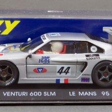 Slot Cars: VENTURI 600 SUPER LM FLY LE MANS 95 NUEVO CAJA REF A 16 SIN USO. Lote 167953384