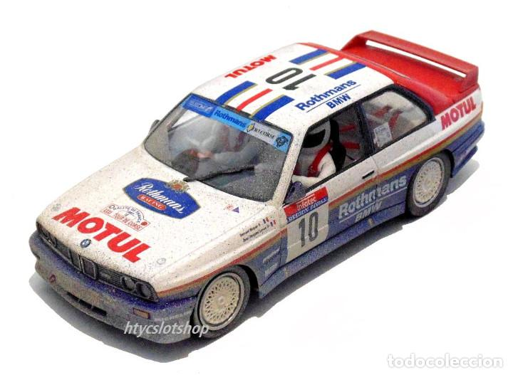 Slot Cars: SLOTWINGS EFECTO SUCIO SOLO 20 UNIDADES BMW M3 E30 #10 ROTHMANS 1º TOUR DE CORSE 1987 BÉGUIN / LENNE - Foto 2 - 168228030