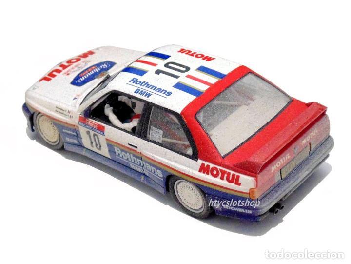 Slot Cars: SLOTWINGS EFECTO SUCIO SOLO 20 UNIDADES BMW M3 E30 #10 ROTHMANS 1º TOUR DE CORSE 1987 BÉGUIN / LENNE - Foto 4 - 168228030