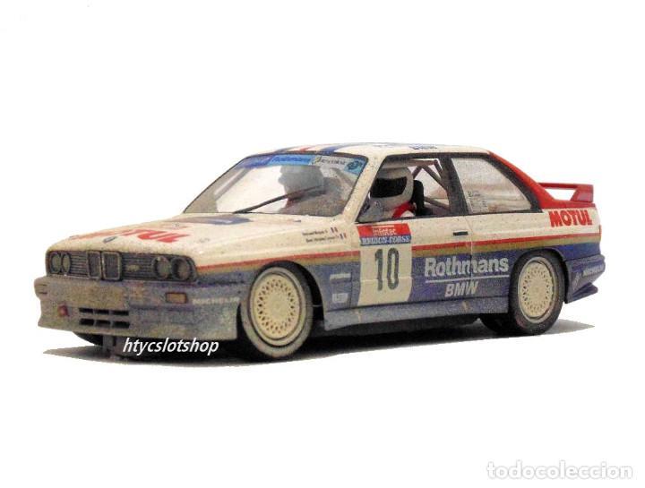 Slot Cars: SLOTWINGS EFECTO SUCIO SOLO 20 UNIDADES BMW M3 E30 #10 ROTHMANS 1º TOUR DE CORSE 1987 BÉGUIN / LENNE - Foto 5 - 168228030