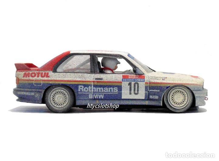 Slot Cars: SLOTWINGS EFECTO SUCIO SOLO 20 UNIDADES BMW M3 E30 #10 ROTHMANS 1º TOUR DE CORSE 1987 BÉGUIN / LENNE - Foto 6 - 168228030