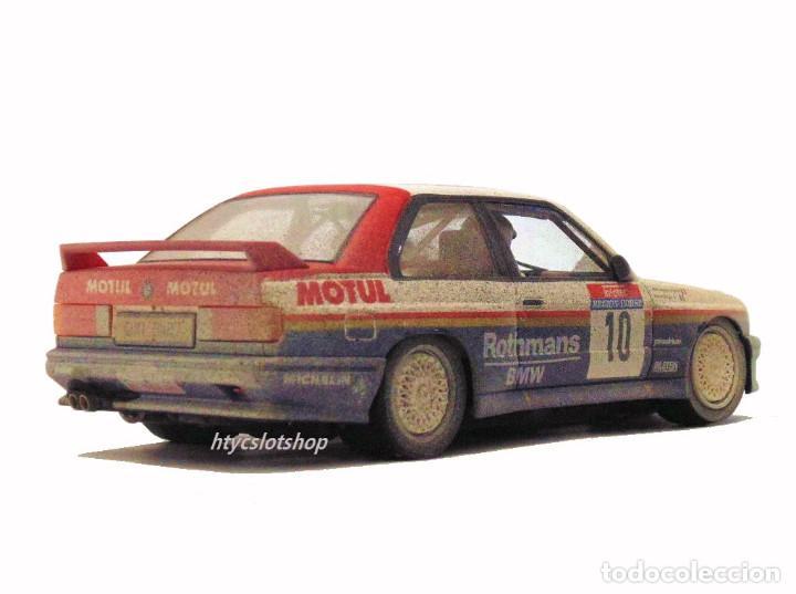 Slot Cars: SLOTWINGS EFECTO SUCIO SOLO 20 UNIDADES BMW M3 E30 #10 ROTHMANS 1º TOUR DE CORSE 1987 BÉGUIN / LENNE - Foto 7 - 168228030