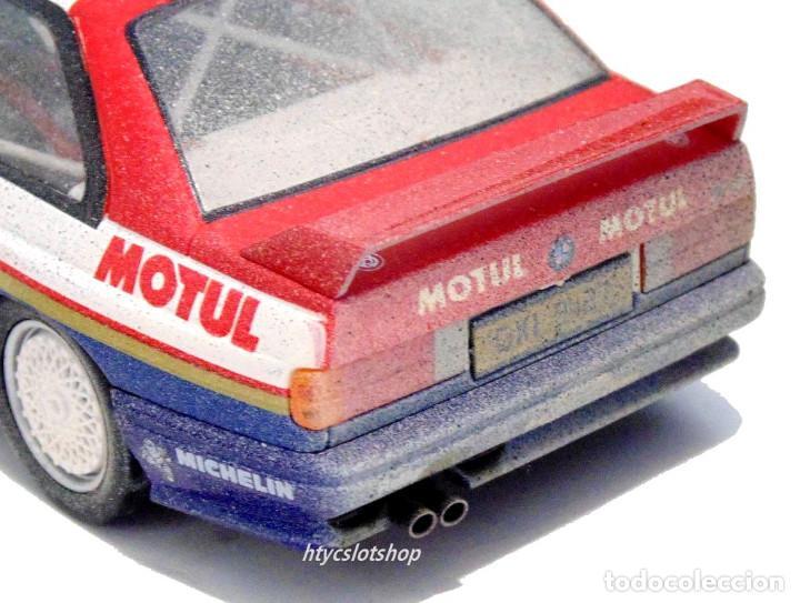 Slot Cars: SLOTWINGS EFECTO SUCIO SOLO 20 UNIDADES BMW M3 E30 #10 ROTHMANS 1º TOUR DE CORSE 1987 BÉGUIN / LENNE - Foto 10 - 168228030
