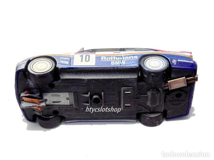 Slot Cars: SLOTWINGS EFECTO SUCIO SOLO 20 UNIDADES BMW M3 E30 #10 ROTHMANS 1º TOUR DE CORSE 1987 BÉGUIN / LENNE - Foto 11 - 168228030