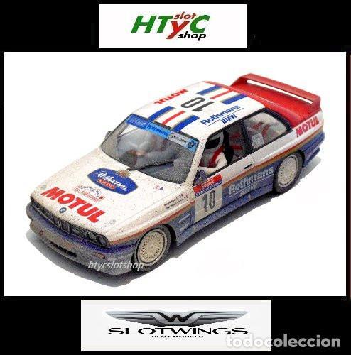 SLOTWINGS EFECTO SUCIO SOLO 20 UNIDADES BMW M3 E30 #10 ROTHMANS 1º TOUR DE CORSE 1987 BÉGUIN / LENNE (Juguetes - Slot Cars - Fly)