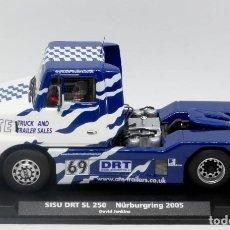 Slot Cars: SISU DRT SL 250 NURBURGRING 2005 FLY CAR MODEL. Lote 168268868