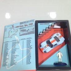 Slot Cars: SLOT,FLY W 07-96039, FORD GT40 Nº 33, GULF, CON FIGURA DE BRIAN REDMAN, 1000KM. SPA 1968. Lote 168380704