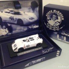 Slot Cars: SLOT, FLY SM1, STEVE MCQUEEN COLLECTION, PORSCHE 908/2 FLUNDER Nº48,GULF, 2º 12H.SEBRING 1970. Lote 168538848
