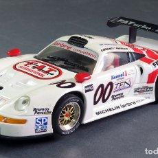 Slot Cars: PORSCHE 911 GT1 FLY DAYTONA 98 BLANCO REF A 38 SIN CAJA. Lote 168594720