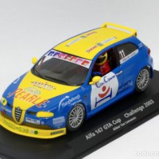 Slot Cars: ALFA ROMEO 147 GTA CUP CHALLENGE 2003 (FLY CAR MODEL). Lote 168611668