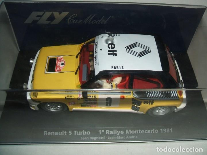 RENAULT 5 TURBO DE FLY REF.-88160 (Juguetes - Slot Cars - Fly)