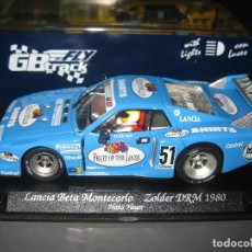 Slot Cars: LANCIA BETA MONTECARLO Nº51 FRUIT OF THE LOOM CON LUCES DE FLY. Lote 169644820