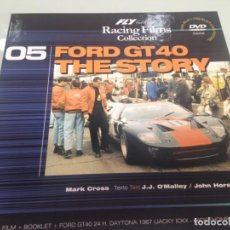 Slot Cars: SLOT,FLY 99038,FORD GT40 Nº11, GULF, LA HISTORIA, 05 RACING FILMS COLLECTION. Lote 170007704