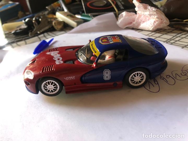 DODGE VIPER REFERENCIA E5 EDICION LIMITADA FUTBOL CLUB BARCELONA FLY CAR MODEL SCALEXTRIC SLOT (Juguetes - Slot Cars - Fly)