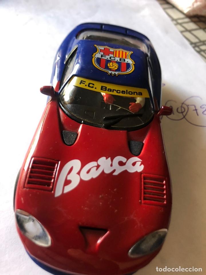 Slot Cars: DODGE VIPER REFERENCIA E5 EDICION LIMITADA FUTBOL CLUB BARCELONA FLY CAR MODEL SCALEXTRIC SLOT - Foto 2 - 170110392