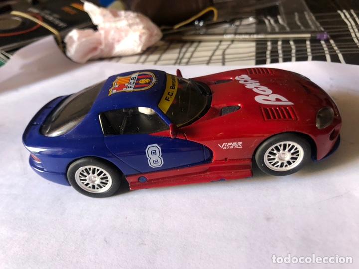 Slot Cars: DODGE VIPER REFERENCIA E5 EDICION LIMITADA FUTBOL CLUB BARCELONA FLY CAR MODEL SCALEXTRIC SLOT - Foto 4 - 170110392