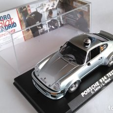 Slot Cars: FLY CAR MODEL PORSCHE 934 TEST CAR CARLOS SAINZ Y LUIS MOYA. NUEVO, VÁLIDO SCALEXTRIC.FORO SLOT. Lote 170236592