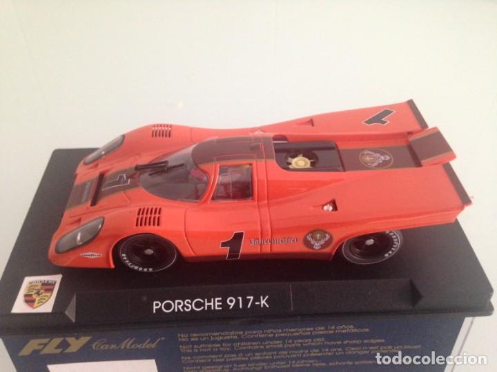 SLOT, FLY S52, PORSCHE 917K Nº1, JAGERMEISTER (Juguetes - Slot Cars - Fly)