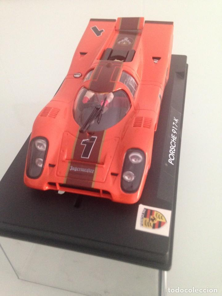 Slot Cars: SLOT, FLY S52, PORSCHE 917K Nº1, JAGERMEISTER - Foto 2 - 170301516