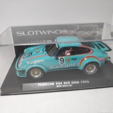 Slot Cars: SLOTWINGS PORSCHE 934 RSR DRM 1976 REF. W044-05. Lote 170514337
