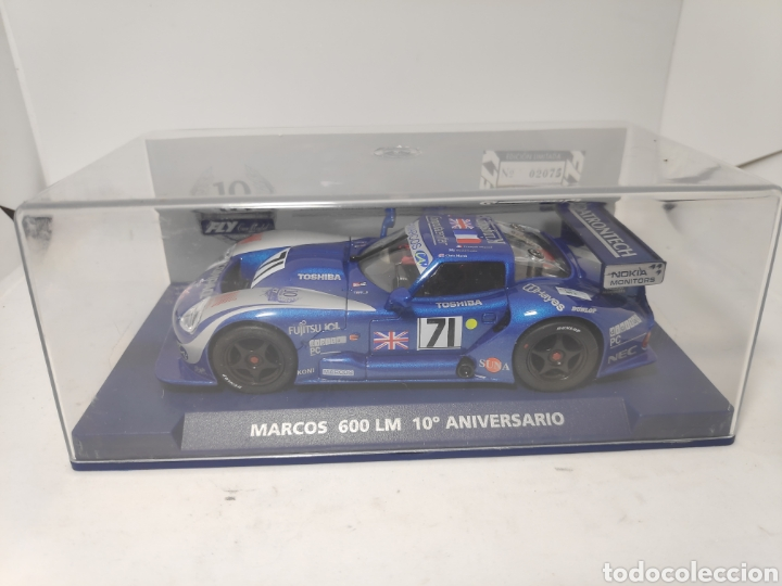 FLY MARCOS 600 LM 10° ANIVERSARIO REF. 96082 (Juguetes - Slot Cars - Fly)