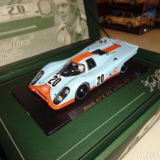 Slot Cars: FLY. PORSCHE 917K. STEVE MCQUEEN. REF. SM3. Lote 170553452